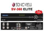 ATUALIZAÇÃO SONICVIEW SV-360 ELITE HISPSAT 30 26/01